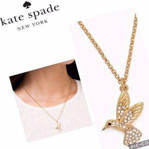 Kate Spade Hummingbird necklace